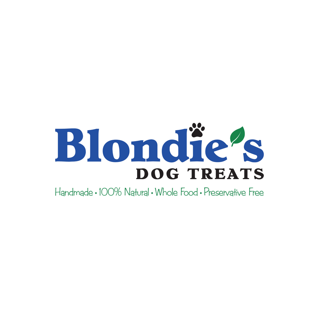 Blondie's Dog Treats // Logo Design