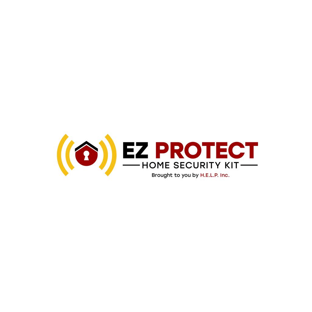 EZProtect Logo Outlines // Logo Design