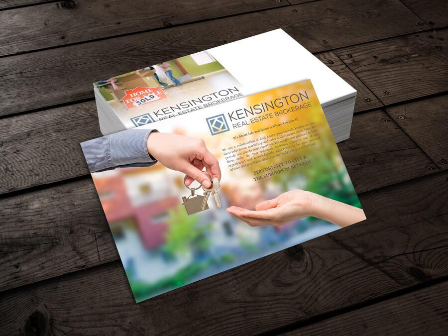 Kensington Postcard // Marketing Materials