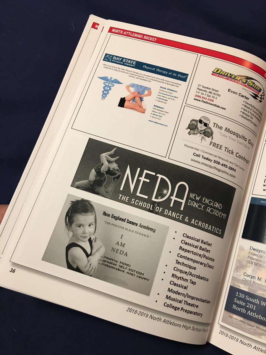 NAHS HockeyBooklet // Marketing Materials