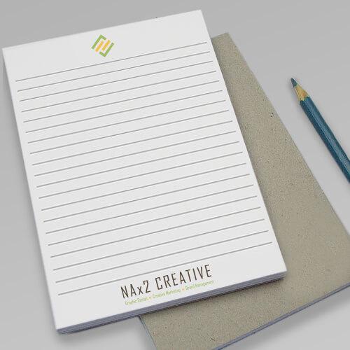 NAx2 Notepads // Marketing Materials