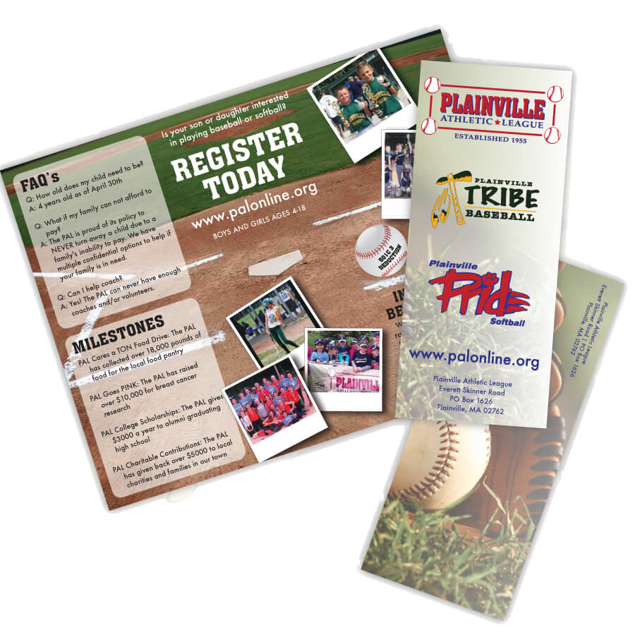 PAL Trifold // Marketing Materials