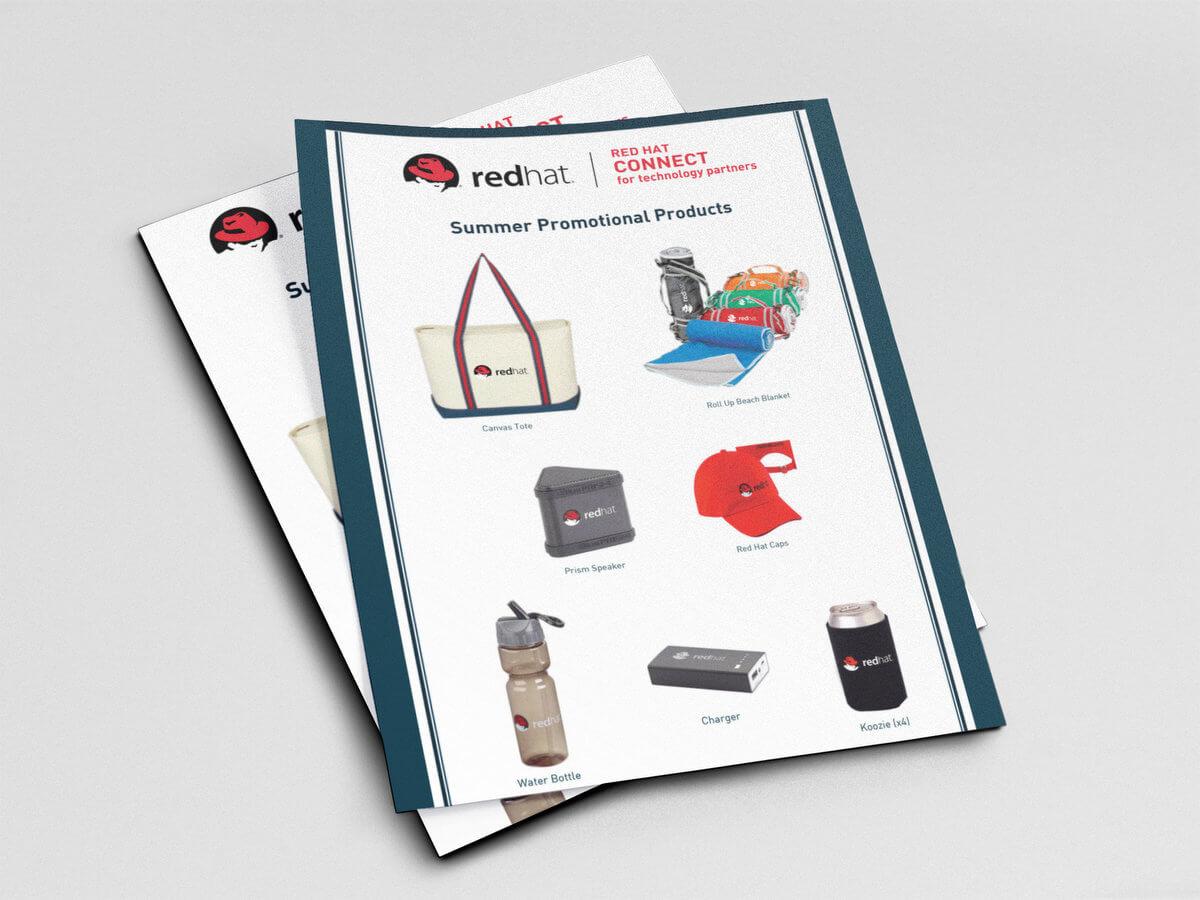 RedHat Brochures // Marketing Materials
