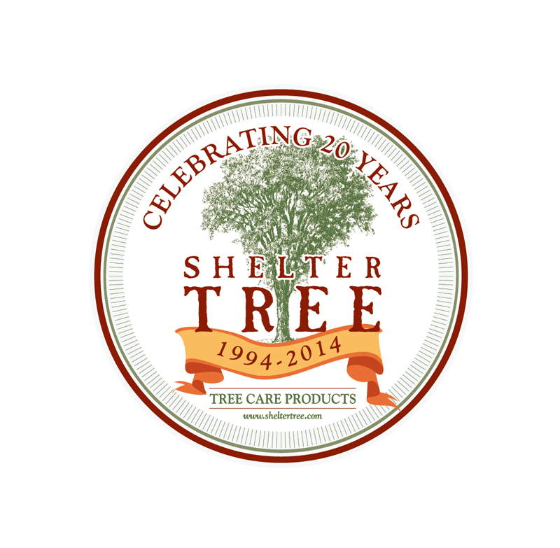 SHELTER-TREE-20YrsFinal // Logo Design