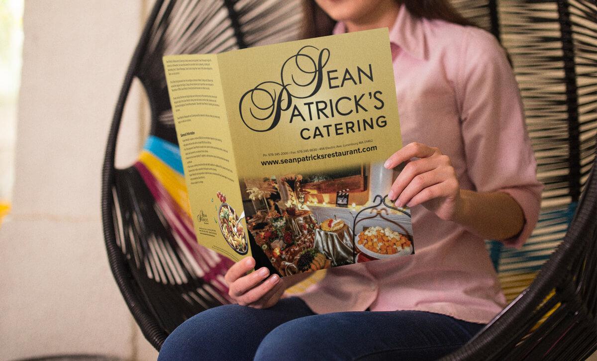 SeanPatricks Menu // Marketing Materials