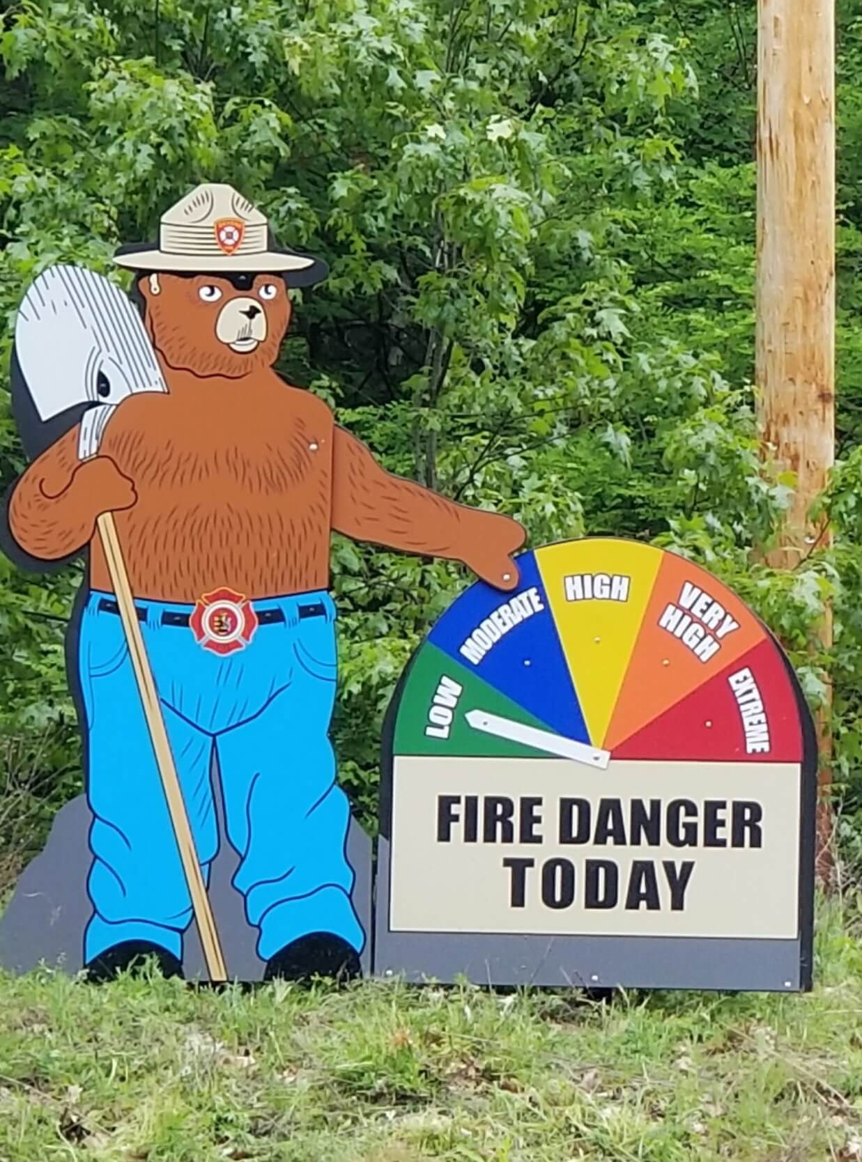 SmokeyTheBear Sign // Signs, Banners, Stickers