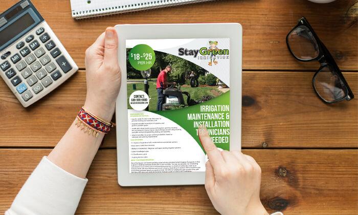 StayGreenAds-001 // Marketing Materials