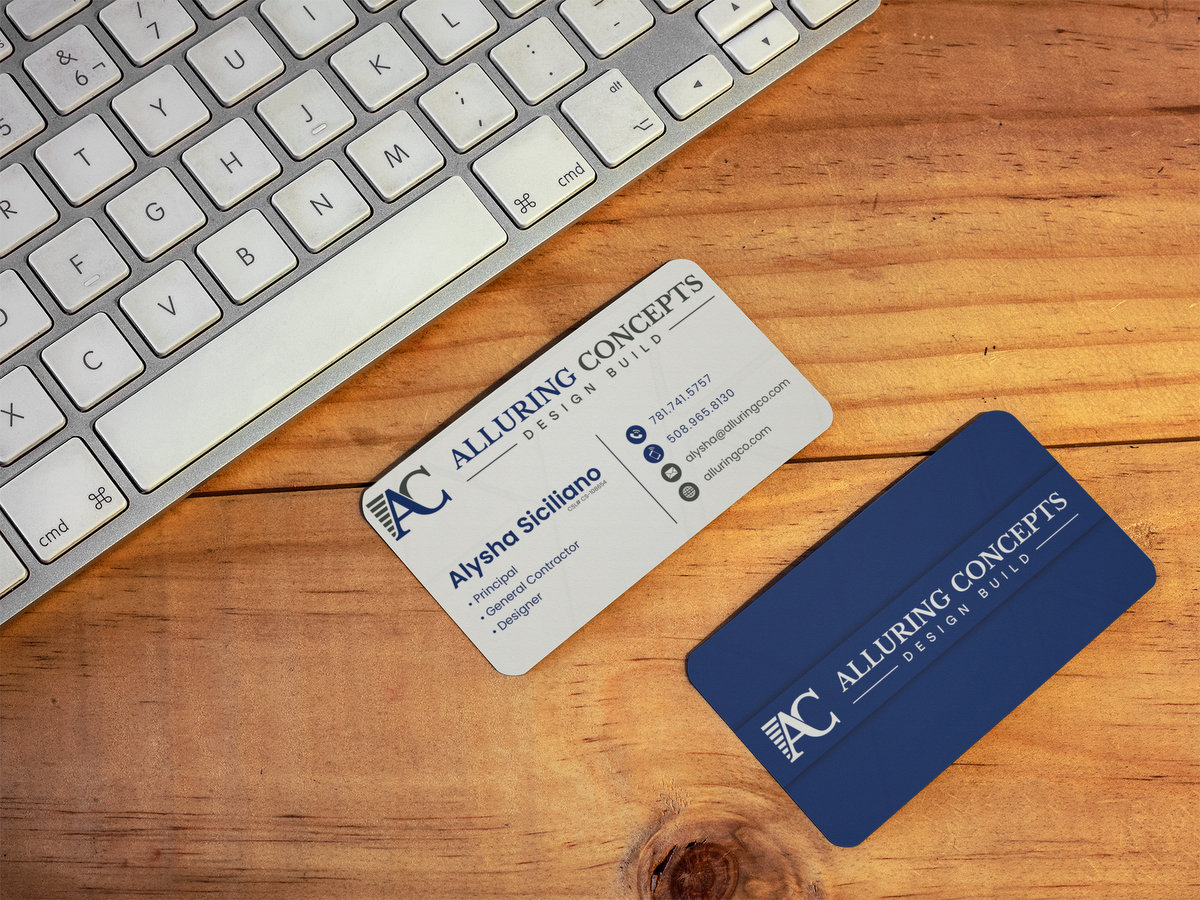 Alluring Concepts // Business Cards
