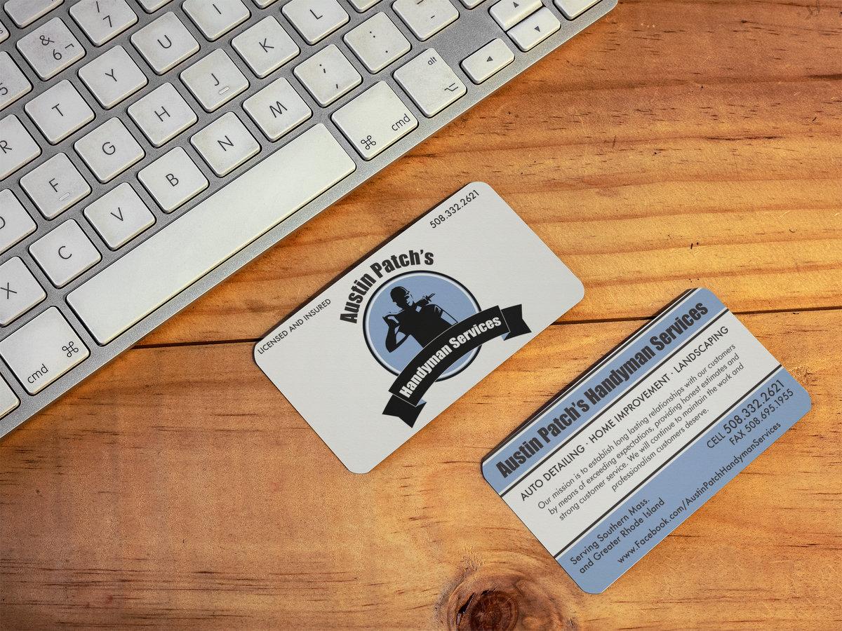 Austin Patch's Handyman Services // Business Cards