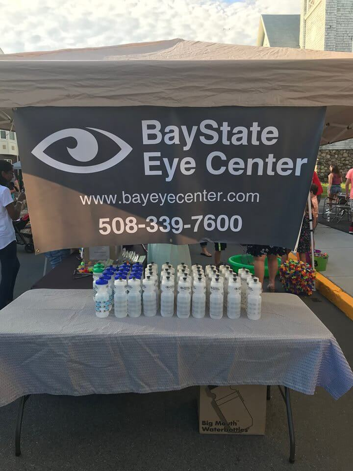 baystateeyeBanner // Signs, Banners, Stickers
