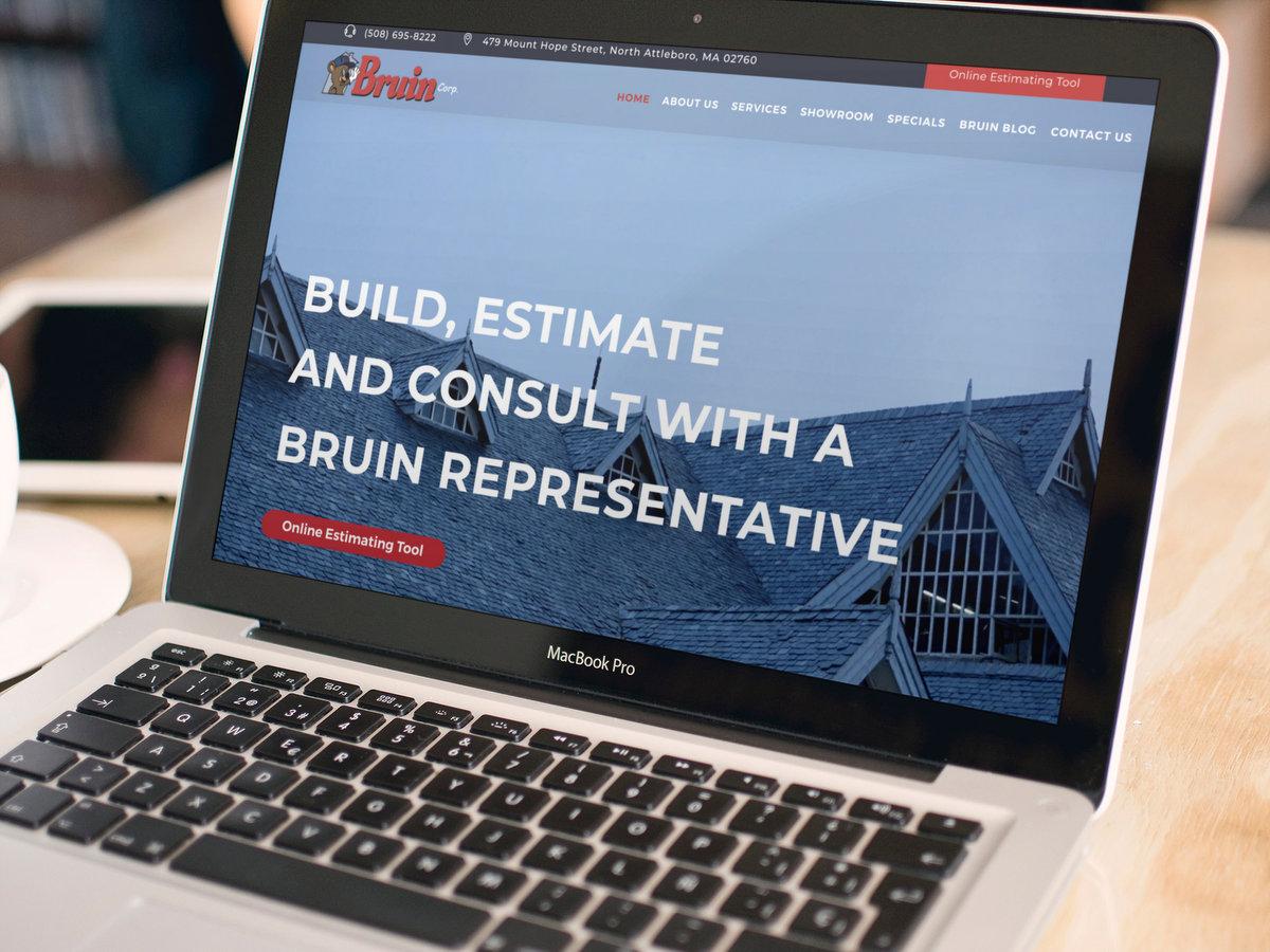Bruin Corp // Website Design