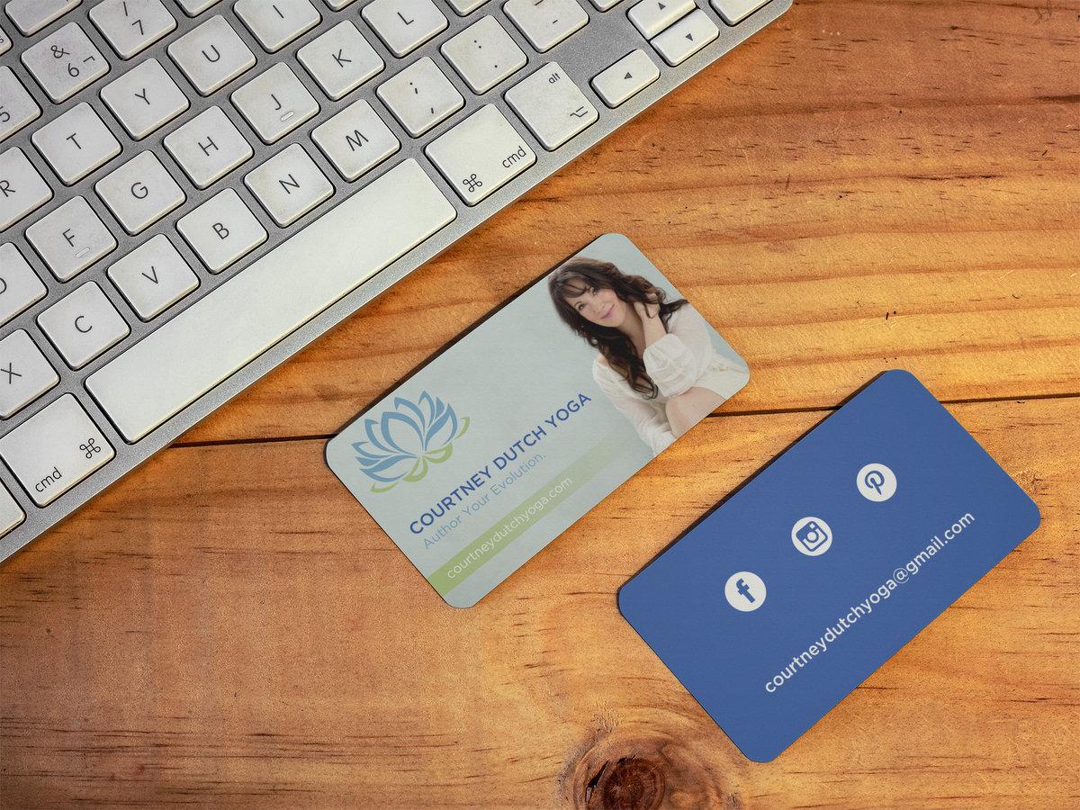 Courtney Dutch Yogo // Business Cards