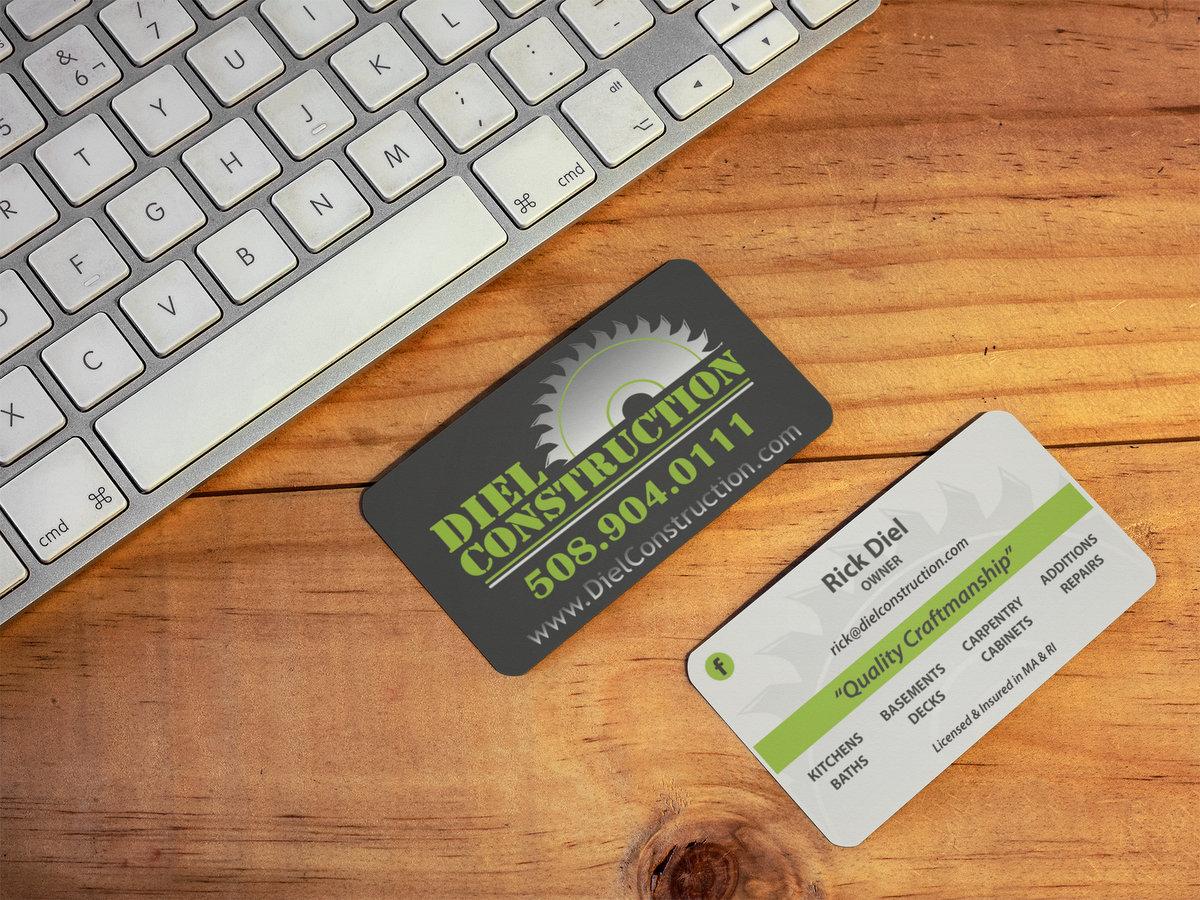 Diel Construction // Business Cards