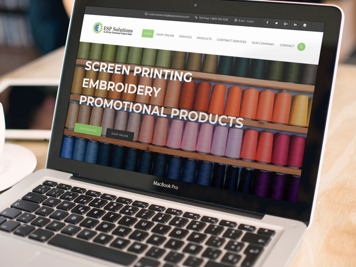 ESP Solutions // Website Design