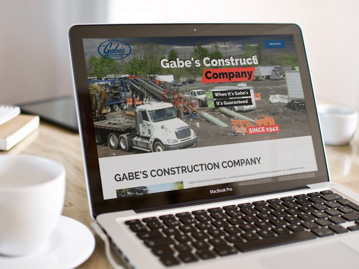 Gabes Corp // Website Design