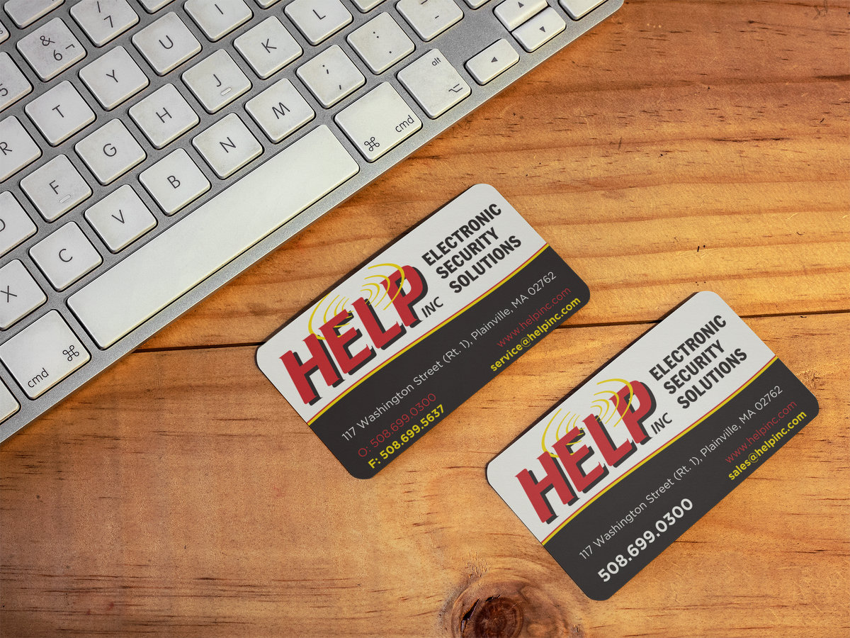 HELP Inc // Business Cards