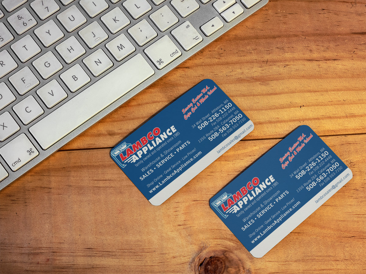 Lambco Appliance // Business Cards