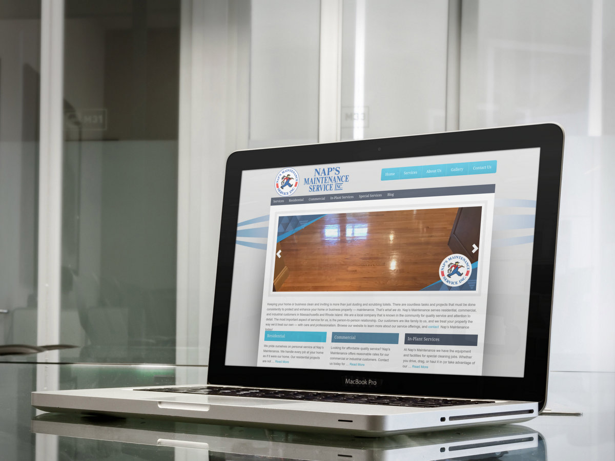 NAPs Maintenance // Website Design