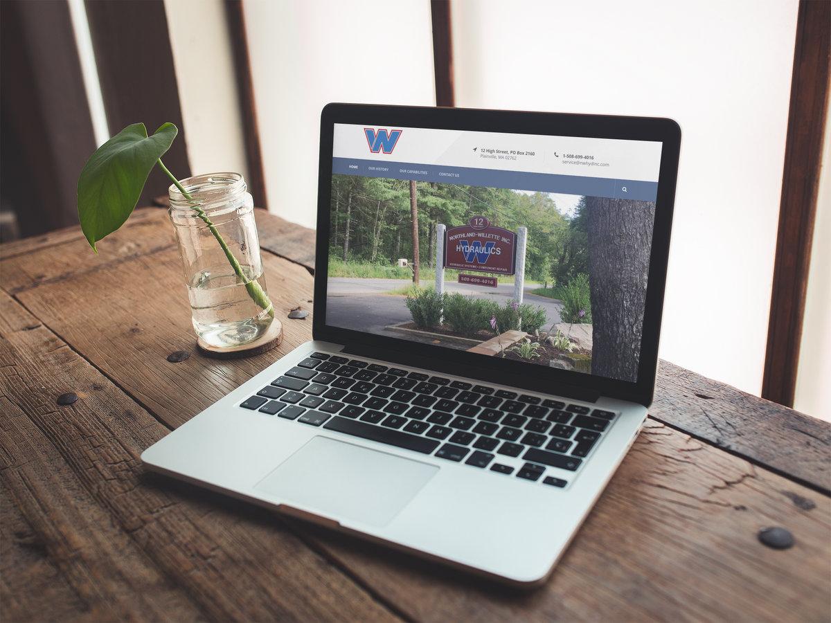 Northland-Willette Hydraulics // Website Design