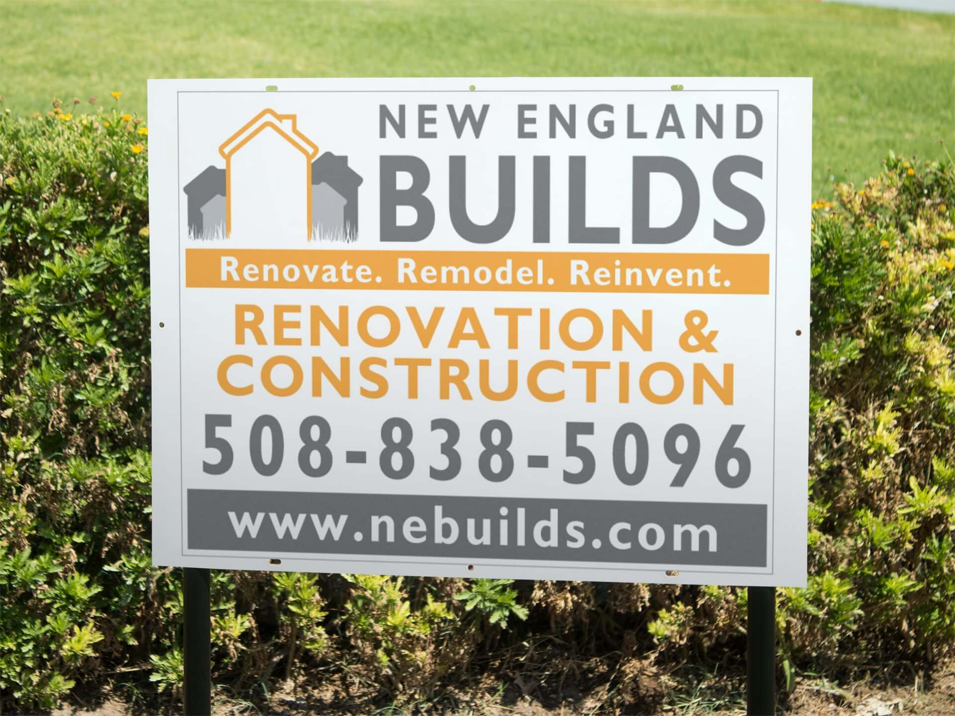 real-estate-lawn-sign-mockup // Signs, Banners, Stickers
