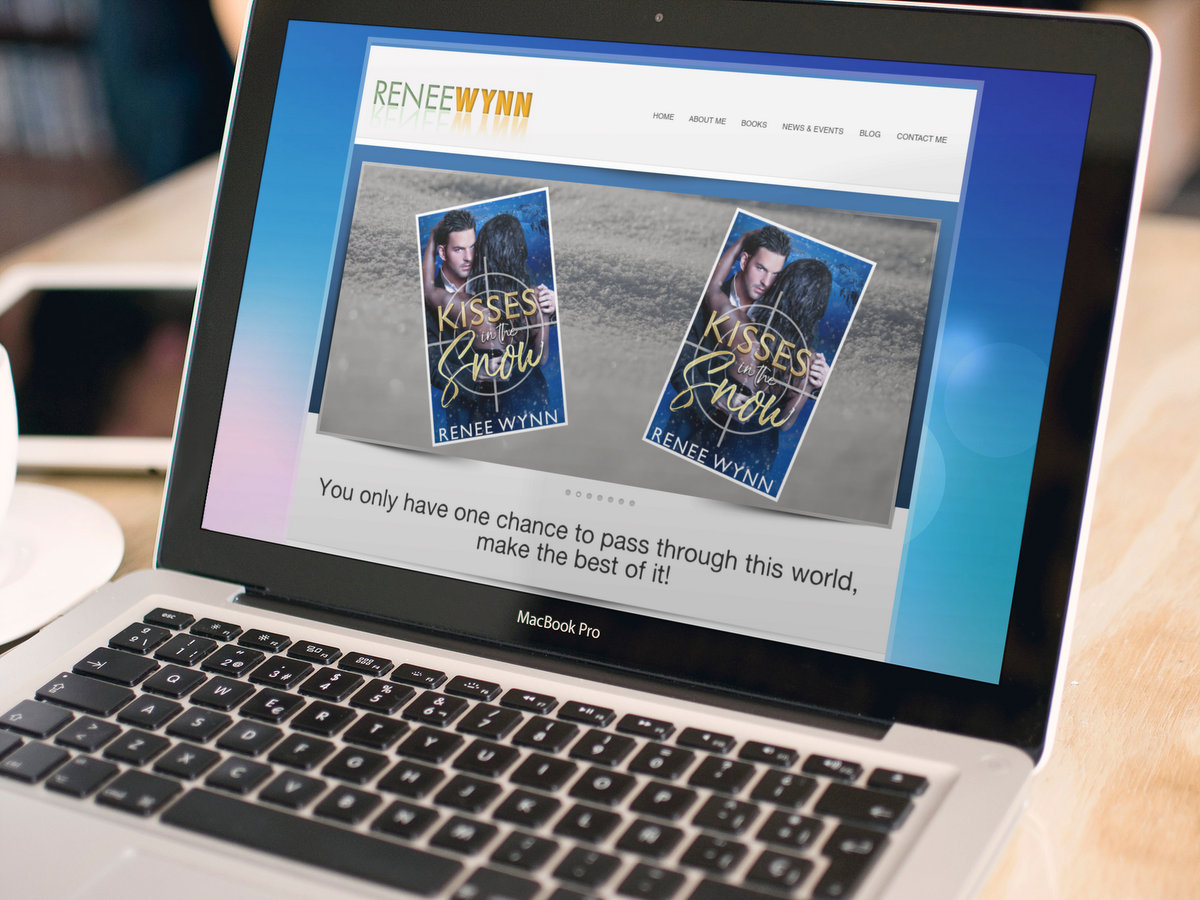 Renee Wynn, Author // Website Design