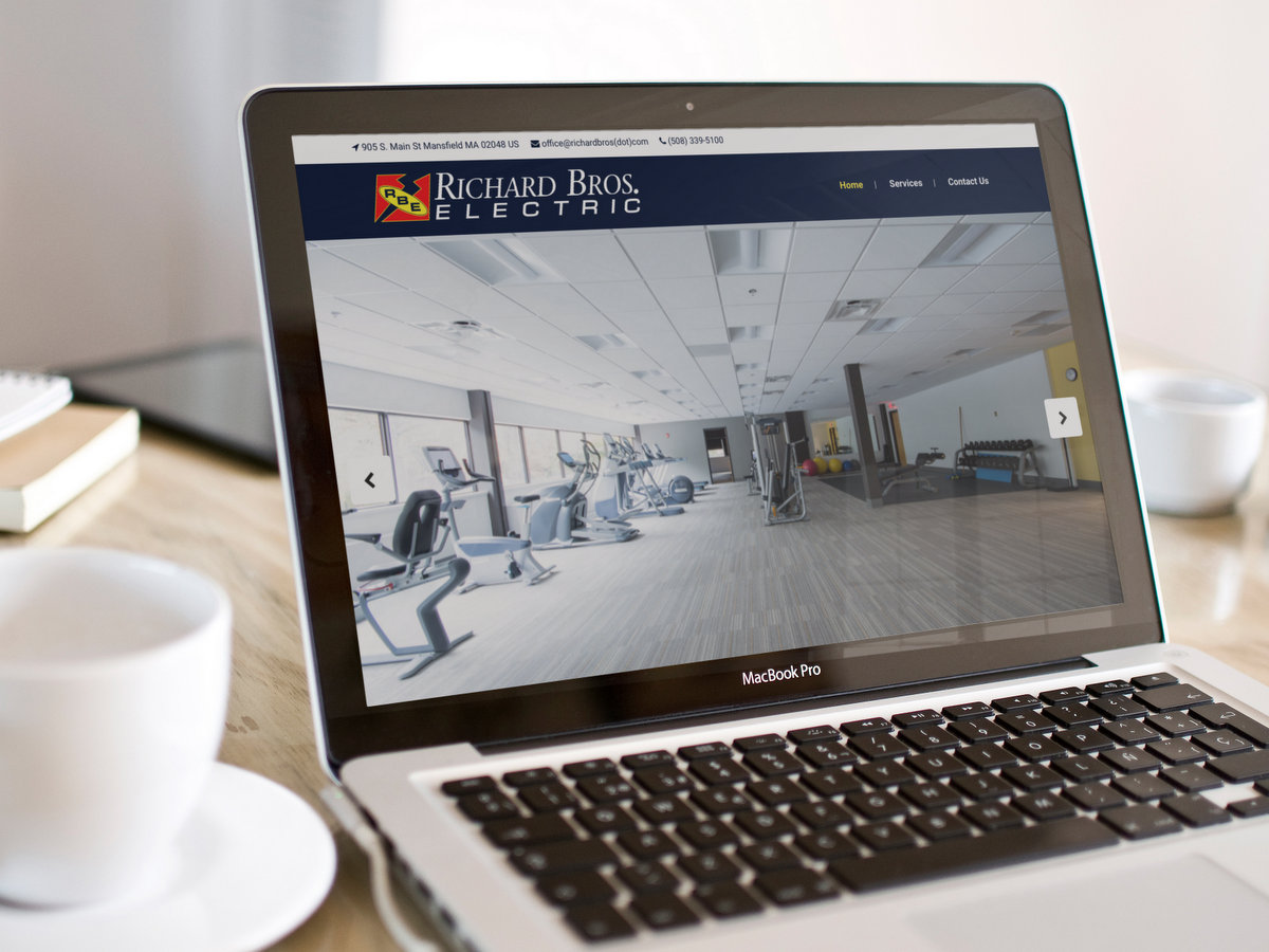 Richard Bros Electric // Website Design
