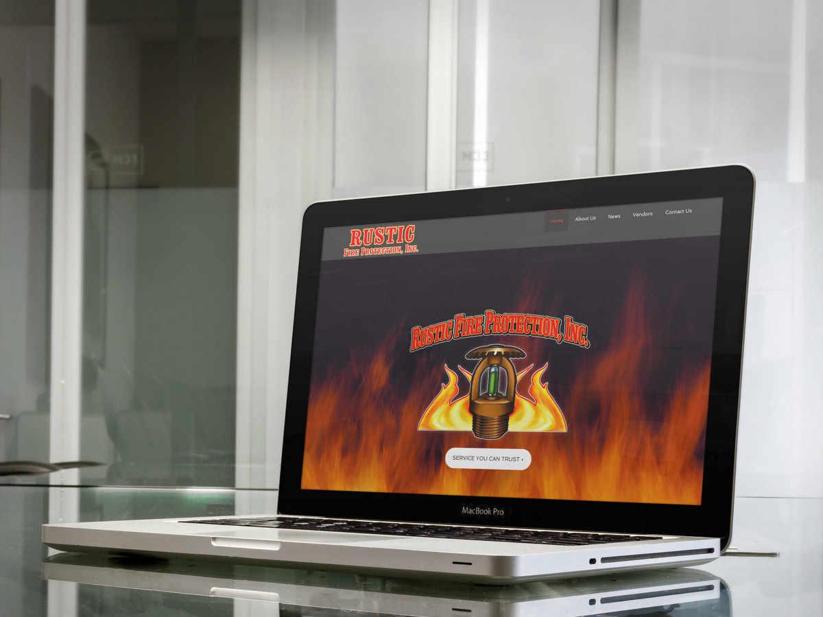 Rustic Fire Protection // Website Design