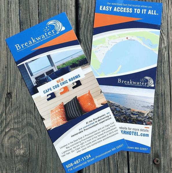 Breakwater Hotel // Rack Card Designs